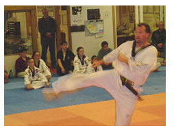 Tae Kwon Do is great exercise
