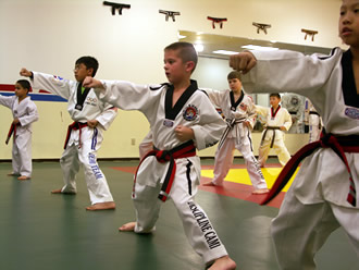 Tae Kwon Do is great for children